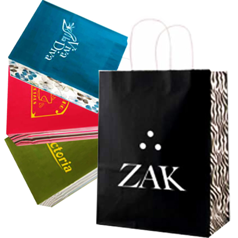 Promotional White Tints and Shopping Bags
