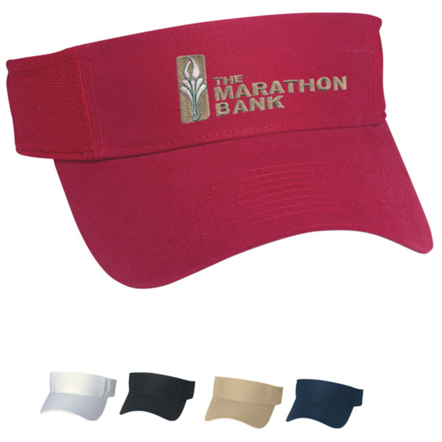 Personalized Hit-Dry Mesh Back Visor