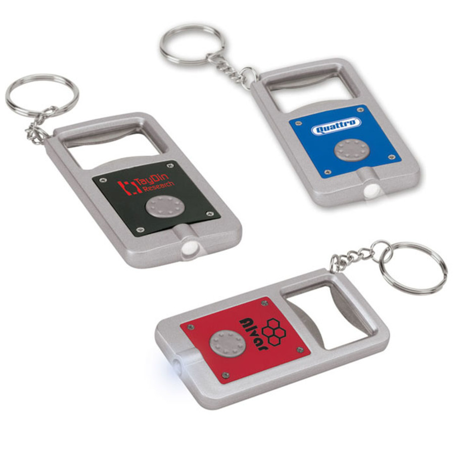 Personalized Keyring LED Bottle Opener