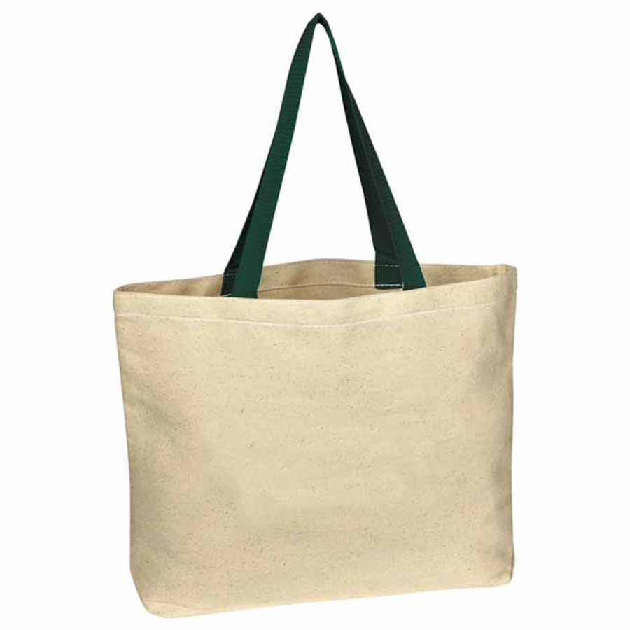 Personalized Natural Cotton Canvas Tote Bag