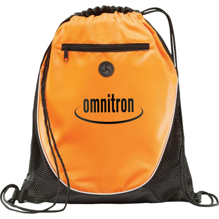 Personalized Peek Drawstring Cinch Backpack