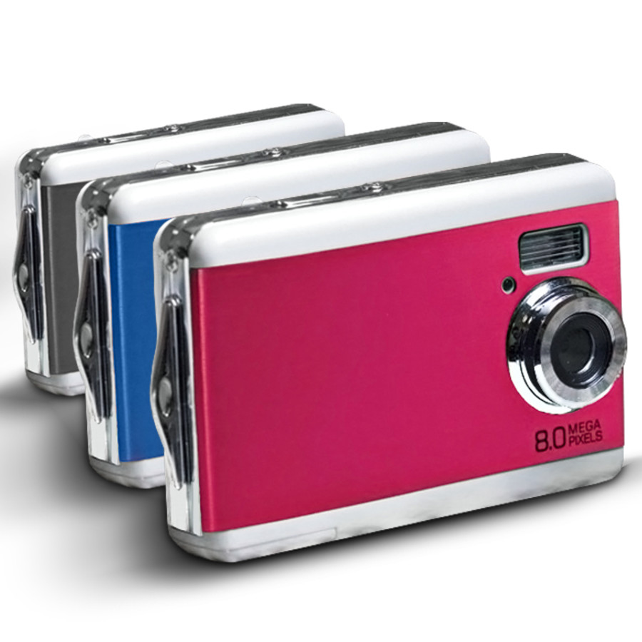 8.0 MP Digital Camera/WebCam