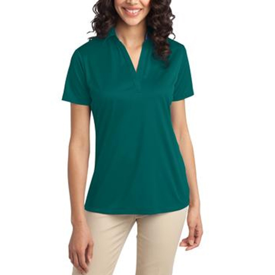 Port Authority Ladies Silk Touch Performance Polo