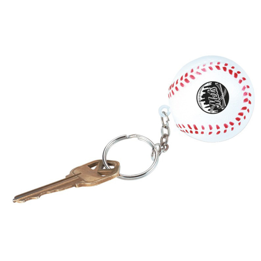 Printable Baseball Stress Reliever Key Chain