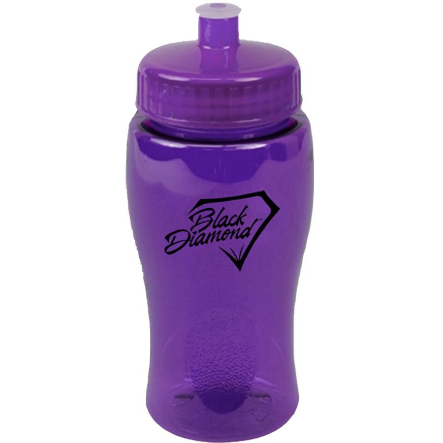 Printable 18 oz. Poly-Pure Junior Bottle Push-Pull Lid