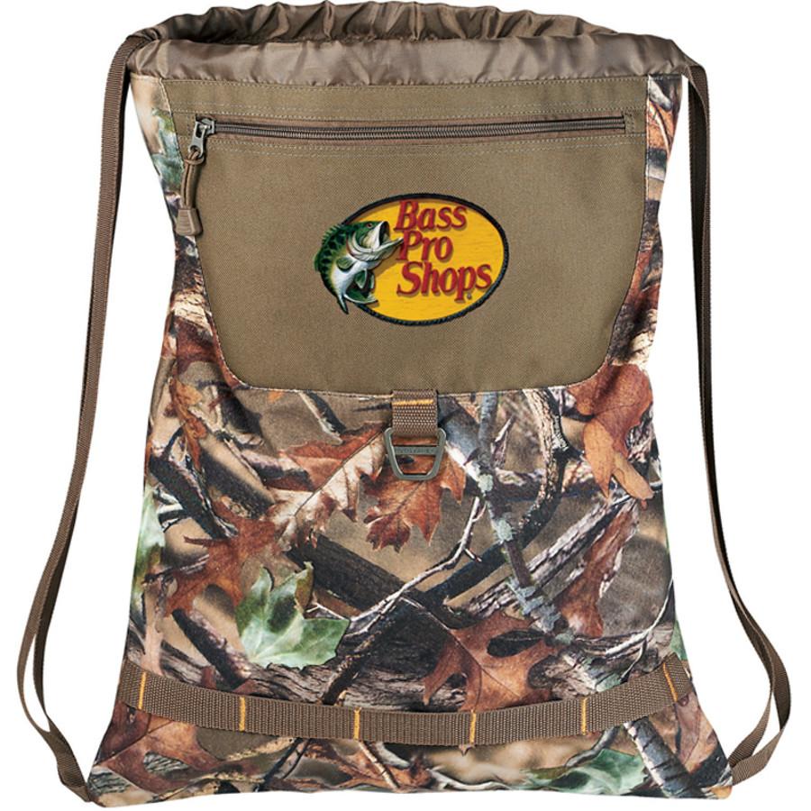 Printed Hunt Valley Sportsman Cinch Backpack