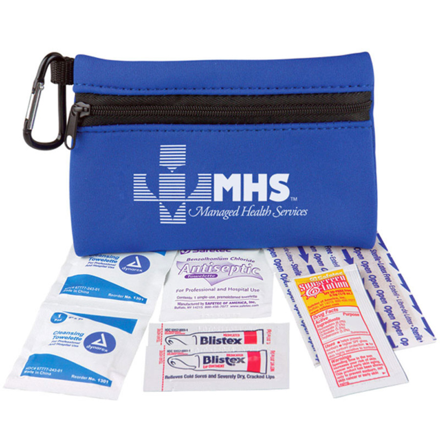 Promo Neoprene Zipper First Aid Kit