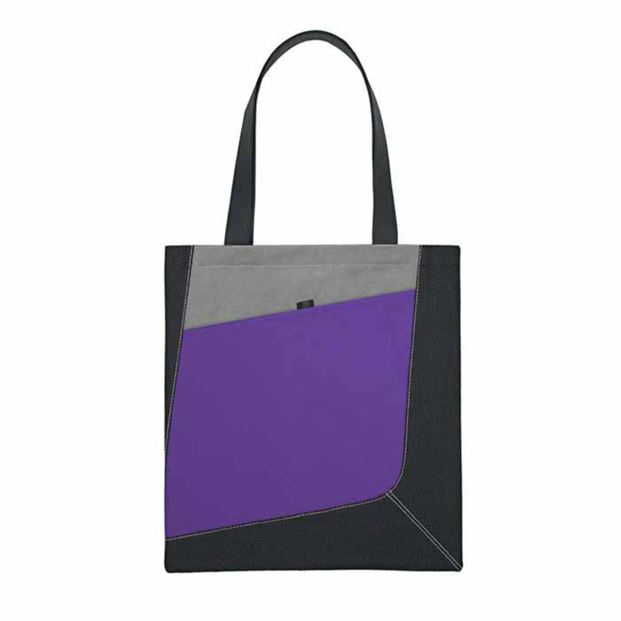 Promotional Non-Woven Accent Tote Bag