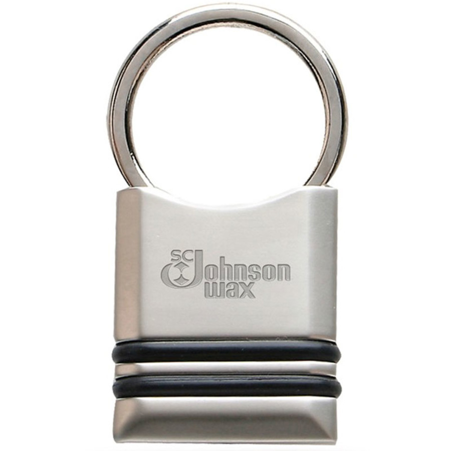 Promotional Pull and Twist Metal Keyholder