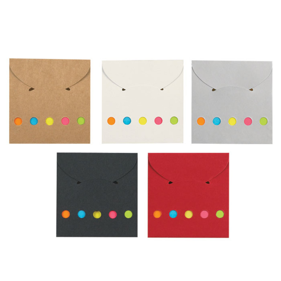 Promotional Sticky Notes And Flags In Pocket Case