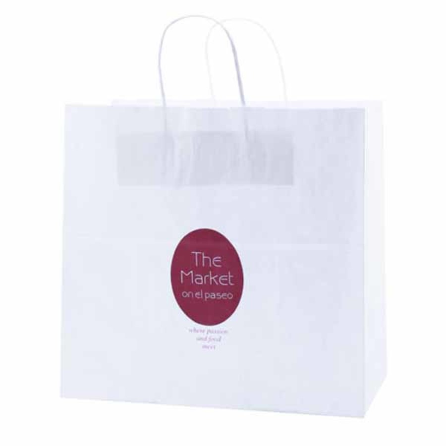 Promotional-White-Kraft-shopping-bags