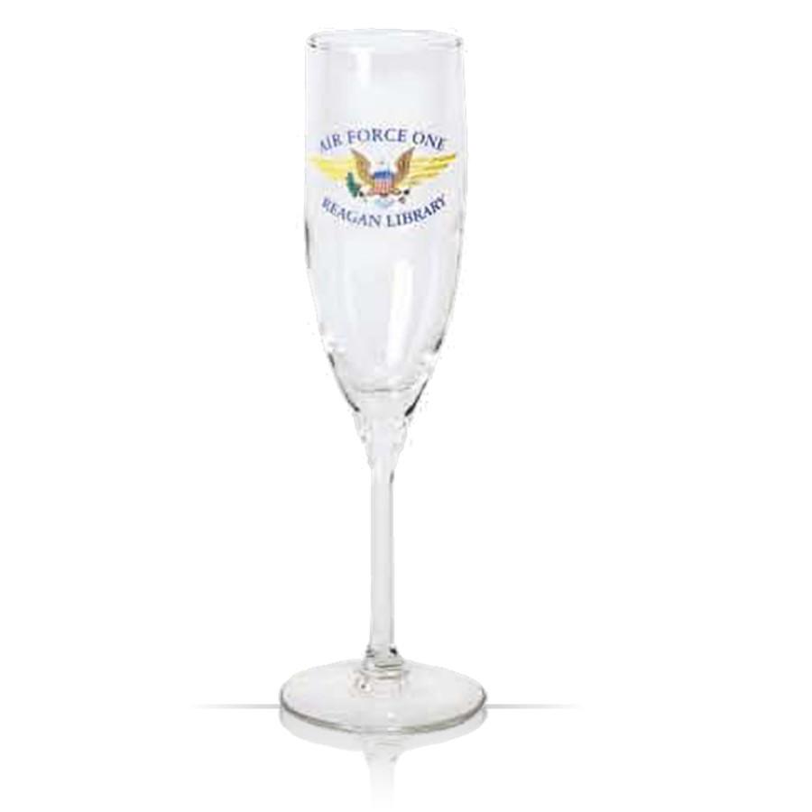 6 oz. Promotional Logo Champagne Flute