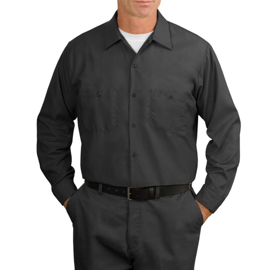 Red Kap - Long Sleeve Industrial Work Shirt (Apparel)