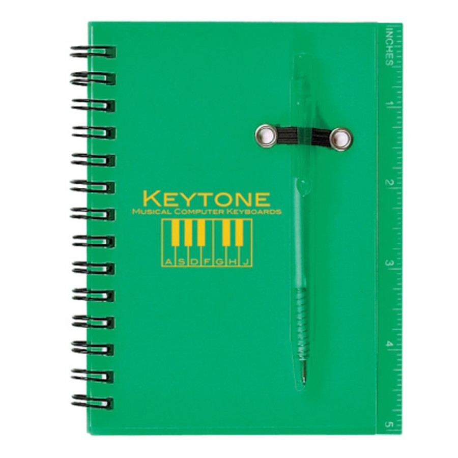 Custom Spiral Notebook and Pen