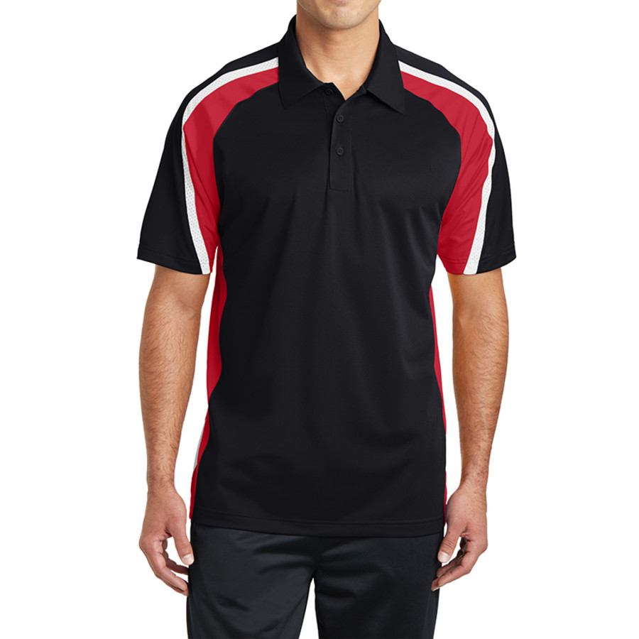 Sport-Tek Tricolor Micropique Sport-Wick Polo (Apparel)