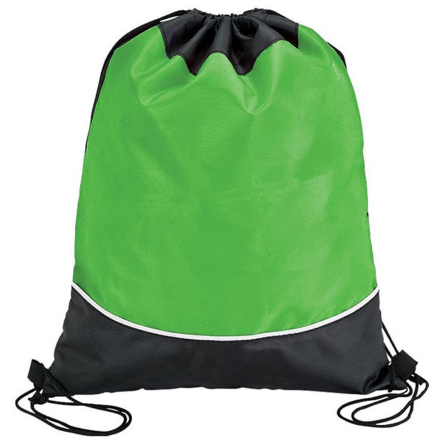 Two Tone Drawstring Bag