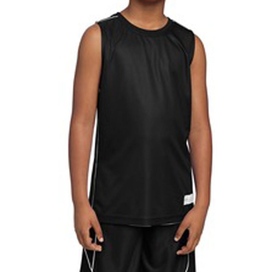Sport-Tek Youth PosiCharge Mesh Reversible Sleeveless Tee (Apparel)
