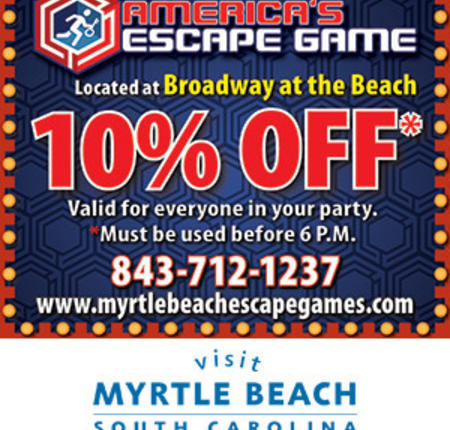 America's Escape Game - 10% Off for everyone in your party