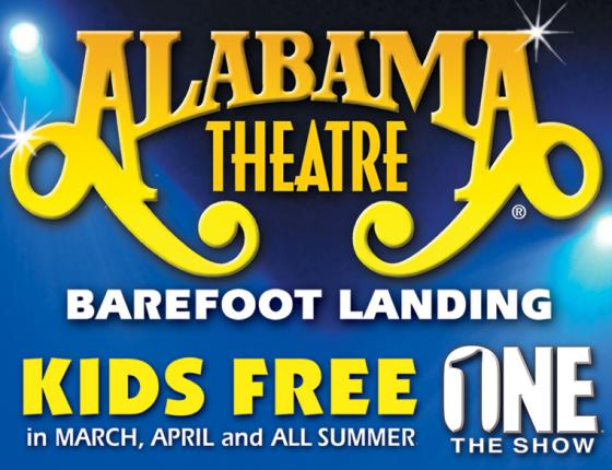 KIDS FREE AT ALABAMA THEATRE