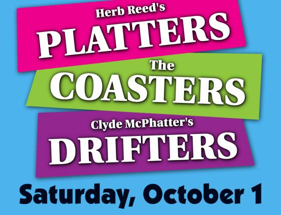 Herb Reed & The Platters, Clyde McPhatter's Drifters & The Coasters