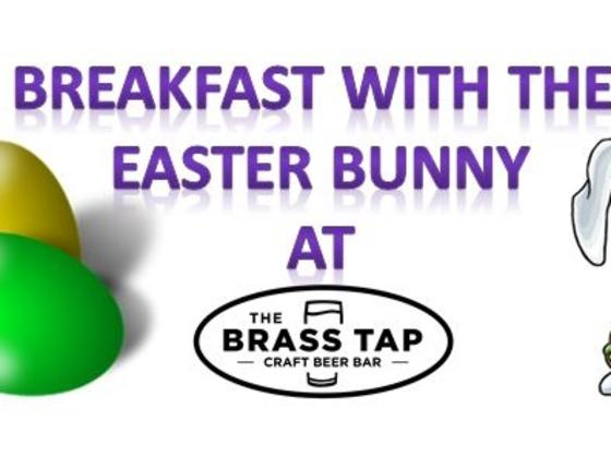 Breakfast with the Easter Bunny at The Brass Tap!