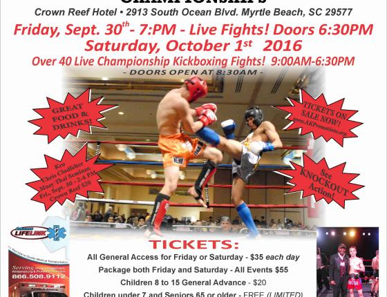 IKF East Coast Kickboxing Fights / Tournament
