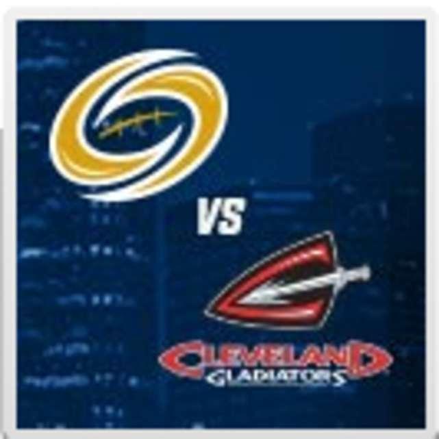 Tampa Bay Storm vs Cleveland Gladiators