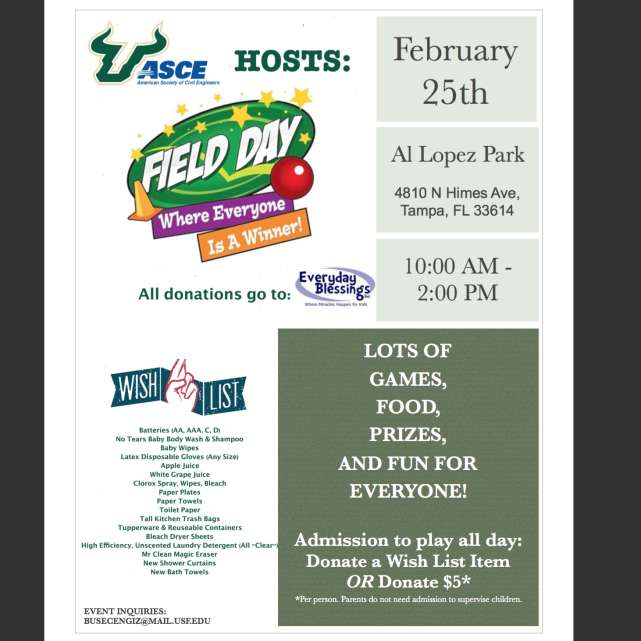Field Day at Al Lopez Park