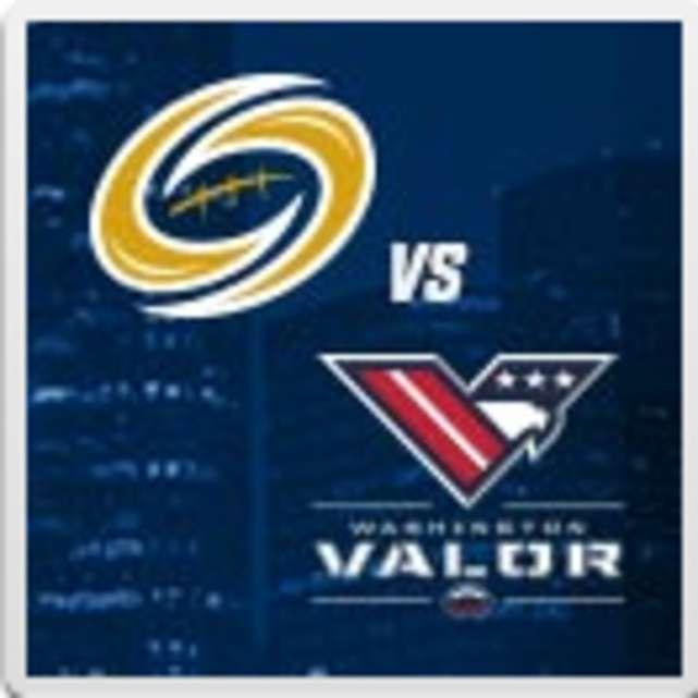 Tampa Bay Storm vs Washington Valor