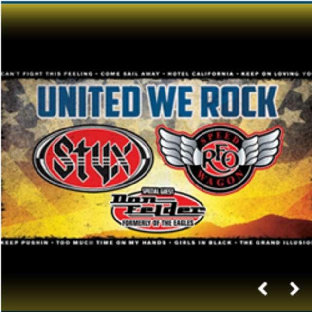 Styx, REO Speedwagon & Don Felder: The United We Rock Tour