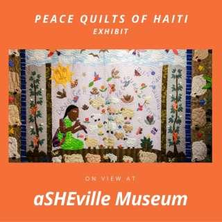 Peace Quilts of Haiti exhibit