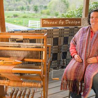 Demonstration: Weaving on a Foot-Powered Loom