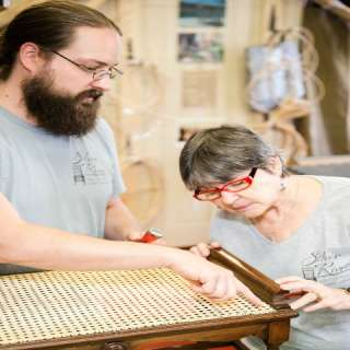 Low-Cost Chair Caning Workshop