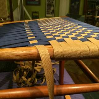 Weave a Chair Seat with Shaker Tape