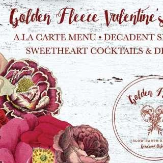 Valentines Dinner with Golden Fleece