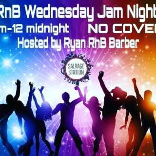 Ryan RnB Barber & Friends present RnB Wednesday Jam Night!