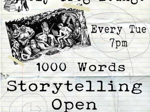 1000 Words - Storyteller Open Mic