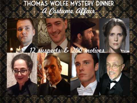 1929 Thomas Wolfe Mystery Dinner Immersive Experience