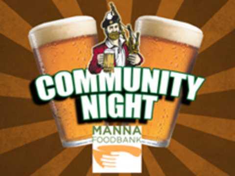Community Night w/ MANNA FoodBank