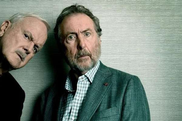 John Cleese & Eric Idle: Together Again At Last…For The Very First Time