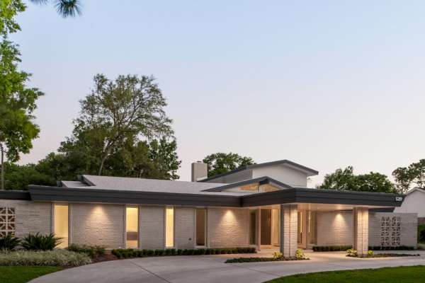 Tour of Mid-century Modern Home