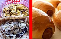 Breakfast tacos Kolaches