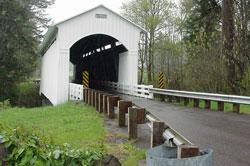 Mosby Creek Bridge by Debbie Williamson Smith