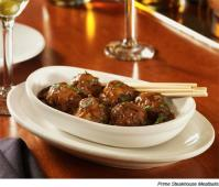Prime Steakhouse Meatballs