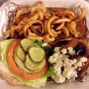 Velvet Elvis Burger