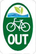Delaware Outdoor Trail Bike sign