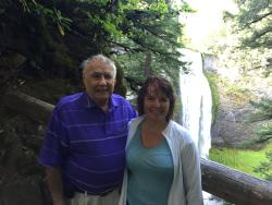 Vern McAleer and Sally McAleer at Salt Creek Falls