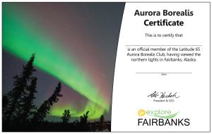 Aurora Certificate