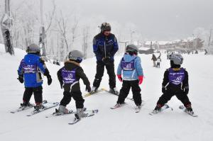 Tiny Tots Ski School, Seven Springs Mountain Resort in Laurel Highlands