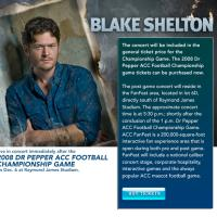 Blake Shelton in Tampa Bay: Tampa Bay Entertainment
